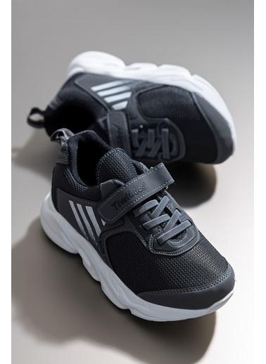 Tonny Black Füme Siyah Çocuk Spor Ayakkabı Tbz05 Füme